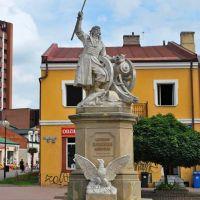 Pomnik Bartosza Głowackiego, Tarnobrzeg / Monument of Bartosz Glowacki, Tarnobrzeg, Poland, Тарнобржег