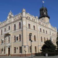 Jarosław - Ratusz Miejski - widok od południowego zachodu, Ярослав