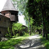 Mury obronne 400 - letniego Opactwa w Jarosławiu., Ярослав