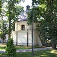 """Jarosław - Kaplica w parku """" Baśki """" Puzon, Ярослав"""