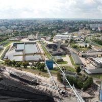Widok z komina EC Białystok, Белосток