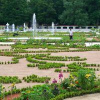 Białystok - Branicki Palace gardens, Белосток