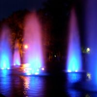 Fountain in Planty Park - Bialystok, Белосток