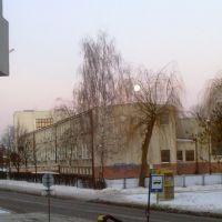 Bielsk Podlaski - zespół szkół przy ulicy Widowskiej (the team of schools near Widowska street), Бельск Подласки
