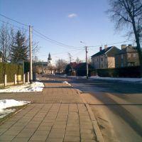 Bielsk Podlaski - ulica Żwirki i Wigury (Żwirki i Wigury street), Бельск Подласки