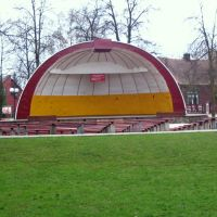 Bielsk Podlaski - muszla kocenrtowa (amphitheater), Бельск Подласки