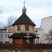 Bielsk Podlski - kapliczka prawosławna św. Mikołaja (St. Nicholas orthodox chapel), Бельск Подласки