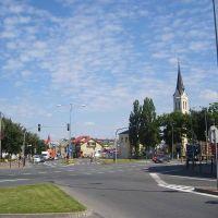 Grajewo, centrum., Граево