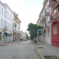 Łomża, ulica Dworna, Ломжа