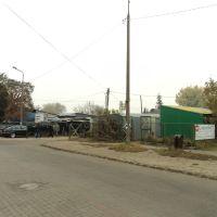 bazarek przy dworcu PKS, Ломжа