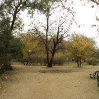 park przy Al.Legionów, Ломжа