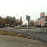 rondo przy Placu Niepodległości, Ломжа