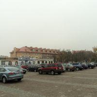 Plac Niepodległości, Ломжа