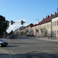 ul. Kościuszki, Suwałki/ main street in Suwalki, Сувалки