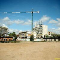 Suwalki - Szkoła Muzyczna (w budowie) i LO III, Сувалки