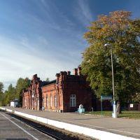 Dworzec kolejowy w Suwałkach, Сувалки