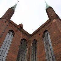 Poland - Gdansk - Old church, Гданьск