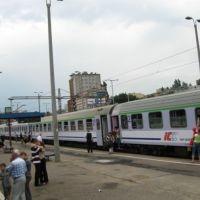 Gdynia - Zakopane - na dworcu w Gdyni - odjazd: 18:10, Гдыня