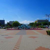 Gdynia : Skwer Kościuszki - fontanna, Гдыня
