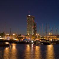 Gdynia nocą  na CudaWianki, Гдыня