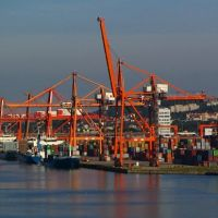 Gdynia - wyjście z portu, Гдыня