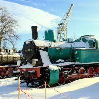 KOŚCIERZYNA (PL): Open Air Railway Museum/Skansen Parowozownia. TKp 100-04., Косцержина