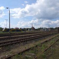 Railway station in Kościerzyna, Косцержина