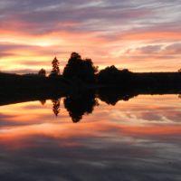 Zachód słońca, Леборк