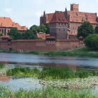Teutonic Knights castle in Malbork (Poland), Мальборк