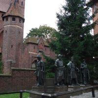 Poland, Malbork, teuton magisters, Мальборк