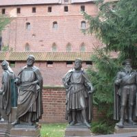 Poland, Malbork castle, teuton magisters, Мальборк