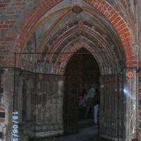 Goldene Pforte; Marienburg; Eingang zur Burgkirche, Мальборк