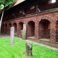 Zamek w Malborku- cmentarz, Мальборк