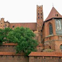 Marienburg (Malbork) castle - high castle (1278-1281), Мальборк