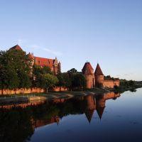 Malbork - zamek krzyżacki  [ XIII w. ], Мальборк