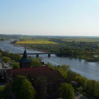 Malbork / Marienburg. View SW, Мальборк