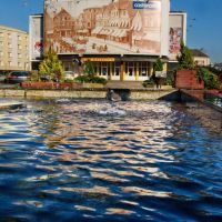 Słupsk, Stary Rynek, Kino Milenium, Слупск