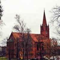 Kościół rzymskokatolicki p.w.Najświętszego Serca Jezusowego., Слупск