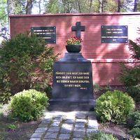 Cmentarz komunalny.Miejsce upamniętniające byłych mieszkańców Słupska, Слупск