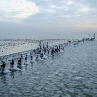 Sopot, Molo and Sea on Ice, Сопот