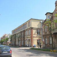 Tczew (near Gdańsk) byłe Państwowe Gimnazjum Mechaniczne, ul. Sobieskiego 10, Тчев