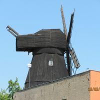 Tczew (near Gdańsk) zabytkowy młyn przy aleji WP, Тчев