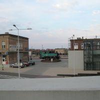 Tczew - dworzec kolejowy - pomnik-parowóz z 1962 roku, Тчев