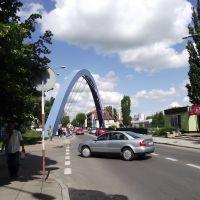 Tczew - wiadukt nad torami, Тчев