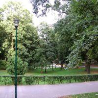 Tczew - park miejski, Тчев