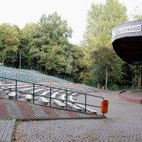 Tczew - amfiteatr im. Grzegorza Ciechowskiego w parku miejskim, Тчев