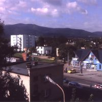 View of Beskid Slaski, From Bielsko-Biala, Белско-Бяла
