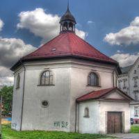 Bytom, ulica Krakowska, kościół św. Ducha -- Bytom, Krakow Street, Church of the Holy Spirit, Бытом