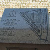 Cmentarz Żołnierzy Niemieckich, Водзислав-Сласки