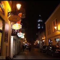 GLIWICE. Wieczorne spacery po mieście. Ul. Raciborska/ Evening walks around the city. Raciborska Street, Гливице